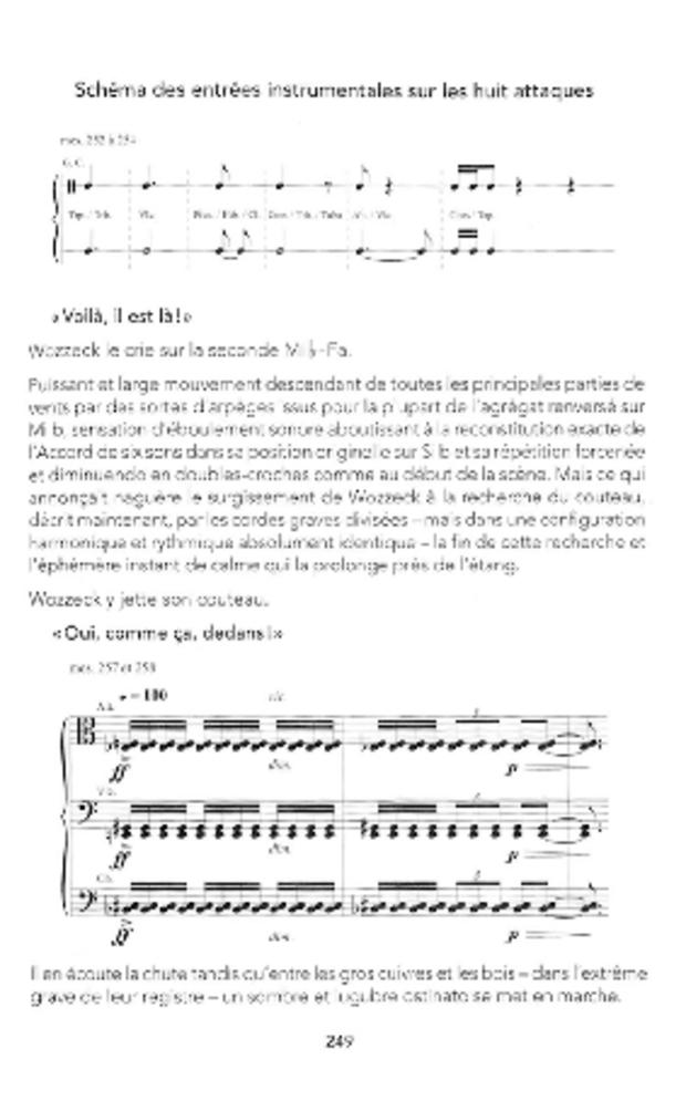 Wozzeck ou l'opéra révélé, extrait 7