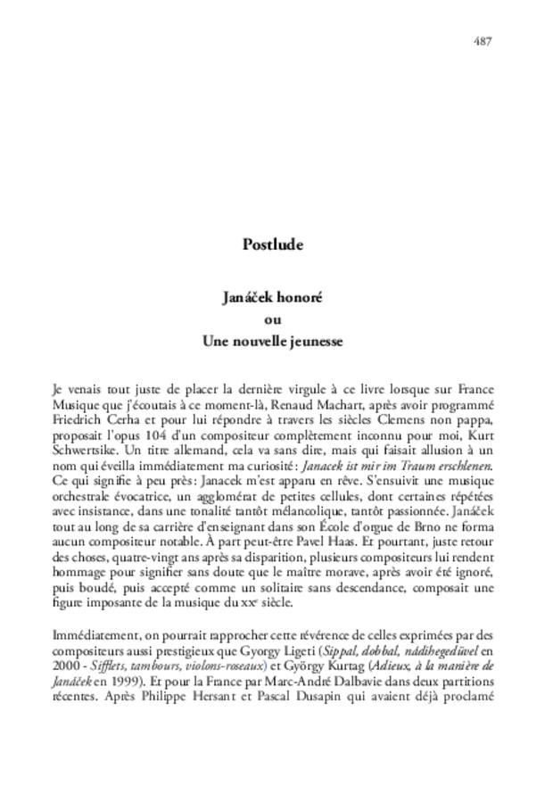 Janáček en France, extrait 10