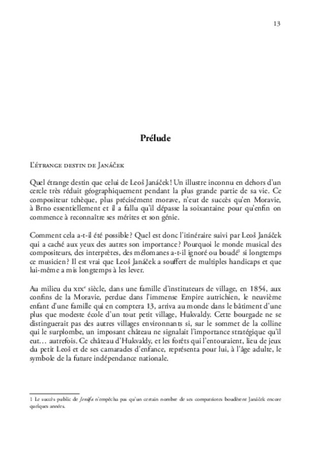 Janáček en France, extrait 3