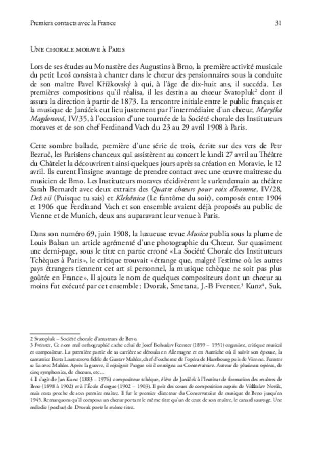 Janáček en France, extrait 6