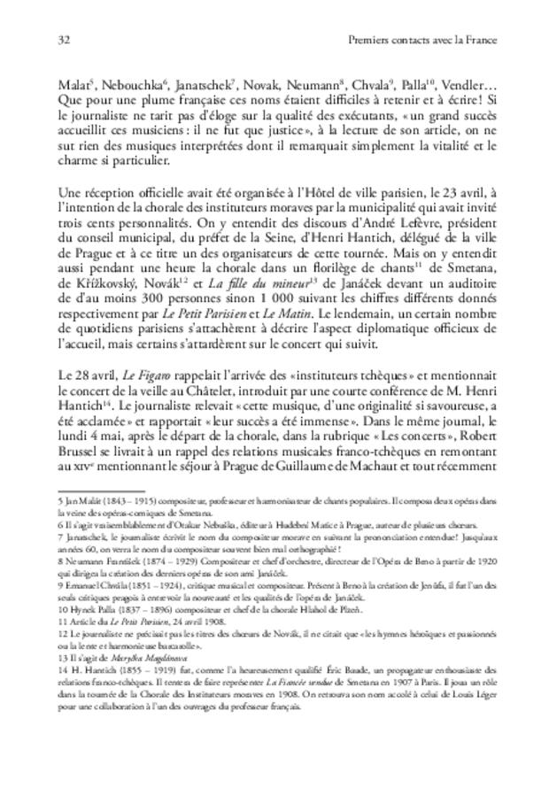 Janáček en France, extrait 7