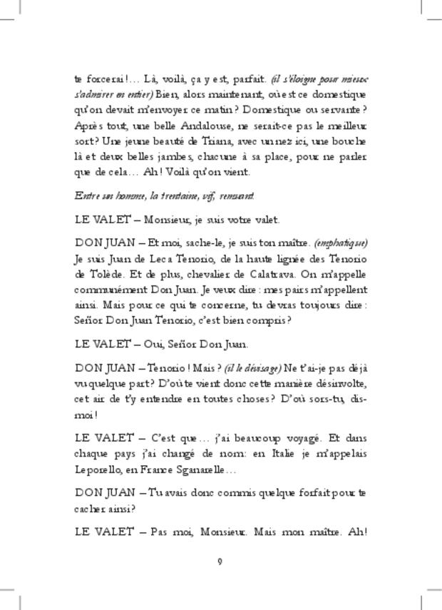 À bas Don Juan!, extrait 11