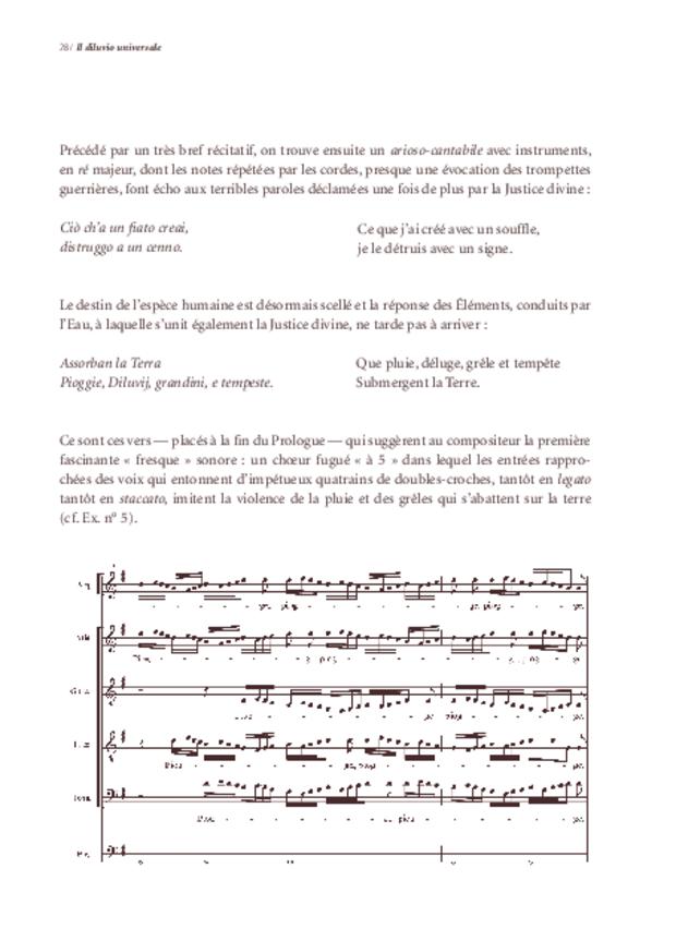 «Il Diluvio universale» de Michelangelo Falvetti, extrait 3