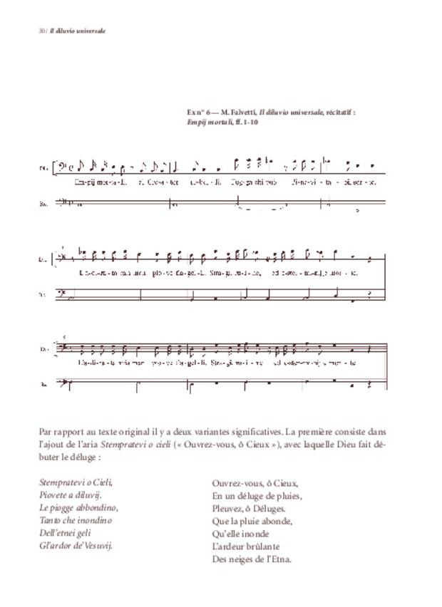 «Il Diluvio universale» de Michelangelo Falvetti, extrait 5