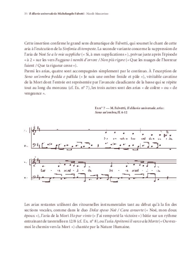 «Il Diluvio universale» de Michelangelo Falvetti, extrait 6