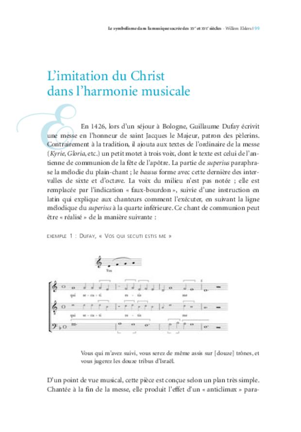Musique, théologie et sacré: d'Oresme à Érasme, extrait 4