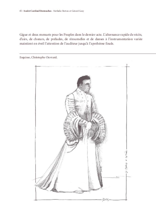 Le Carnaval et la Folie d'André Cardinal Destouches, extrait 6