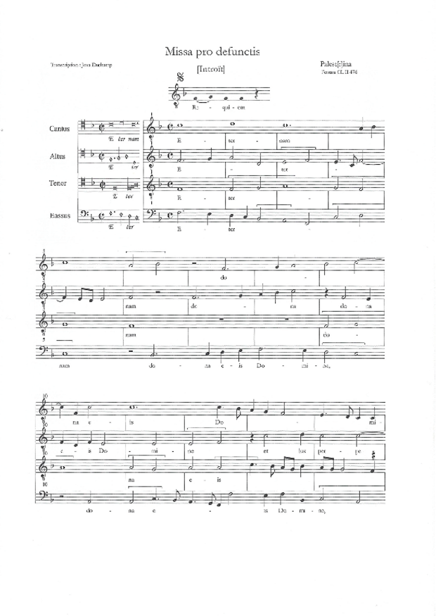 Missa pro defunctis, extrait 6