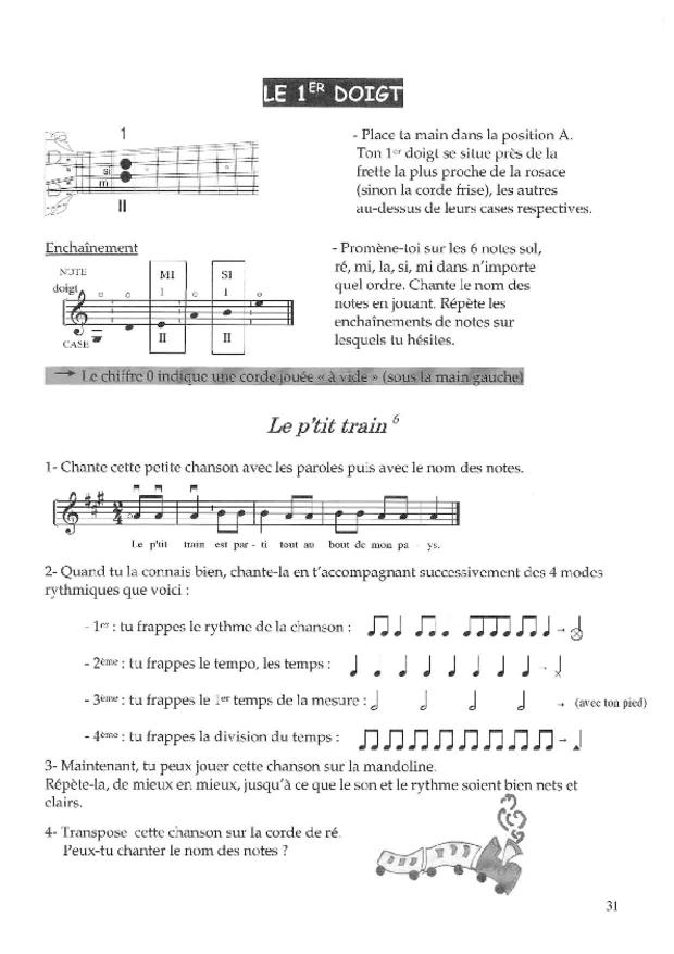 Méthode de mandoline, extrait 2