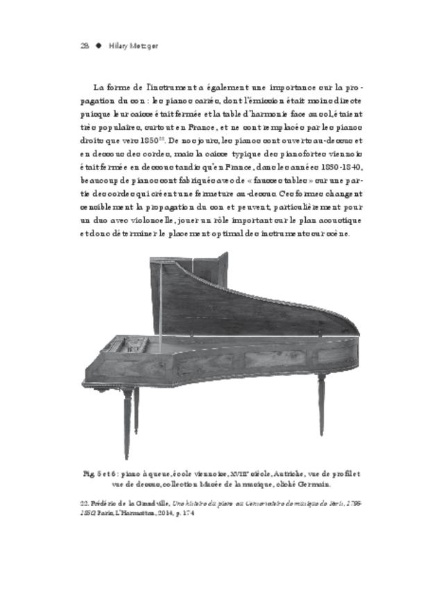 Le Duo violoncelle piano, approches d'un genre, extrait 6