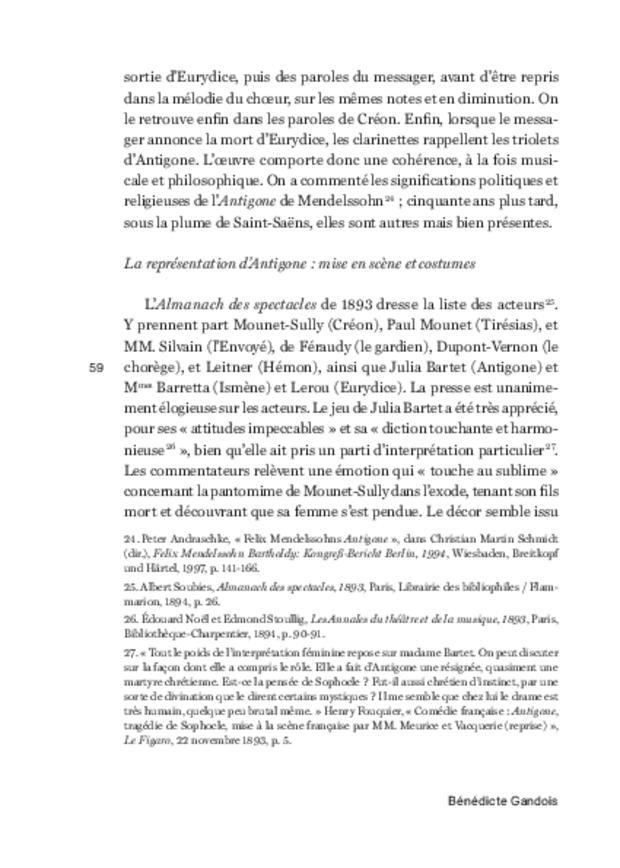 Musiques de scène sous la IIIe République, extrait 14