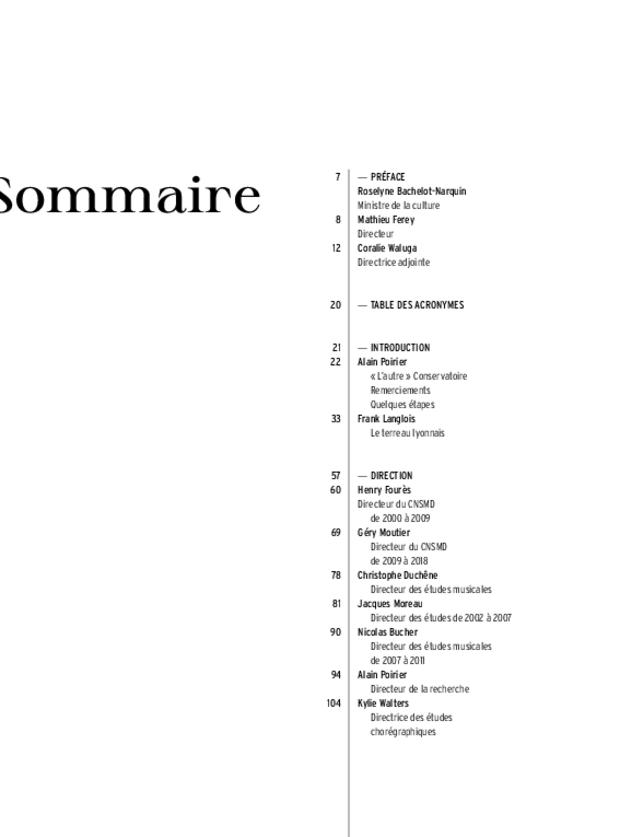 40 ans. Conservatoire national supérieur musique et danse de Lyon, extrait 3