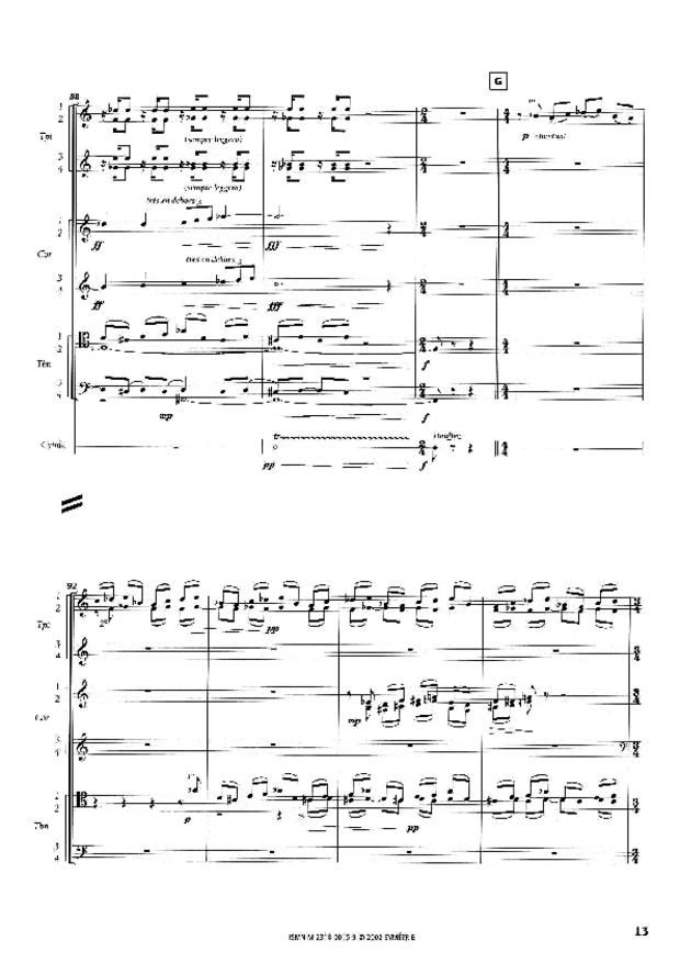 Sinfonia, extrait 2
