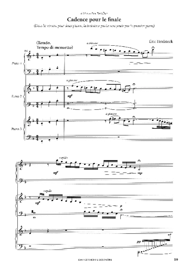 Cadences et points d'orgue, extrait 2