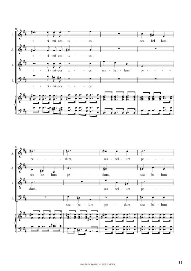 Dixit Dominus, extrait 4