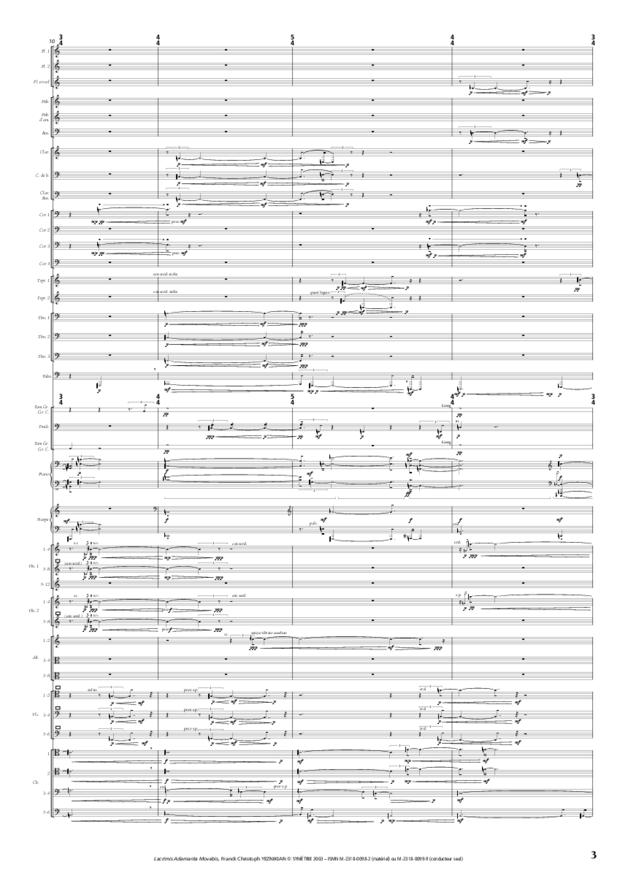 Lacrimis Adamanta Movebis, extrait 3