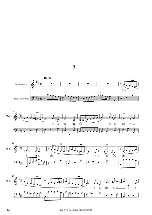 Dixit Dominus, extrait 6