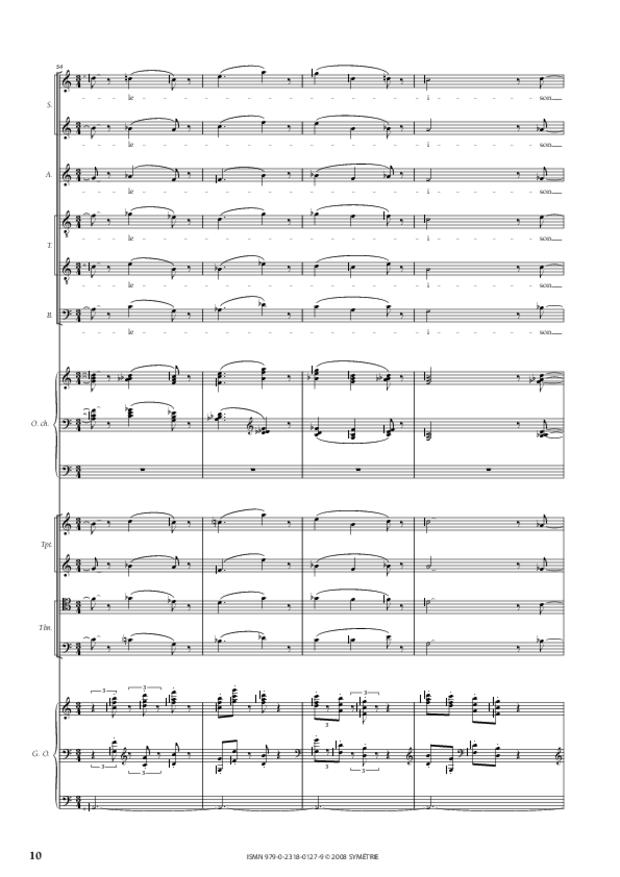 Missa Deo gratias, extrait 4