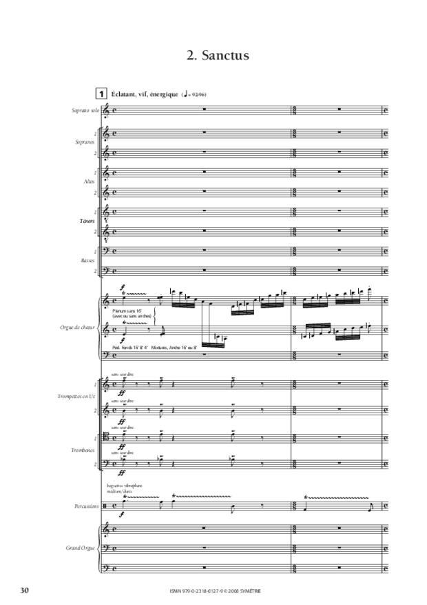 Missa Deo gratias, extrait 7