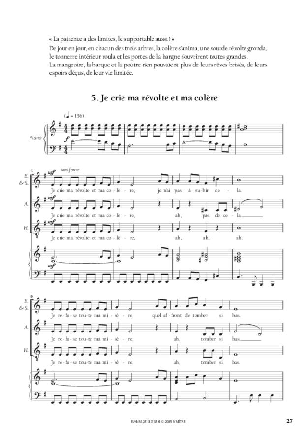 Les Trois Arbres, d'après un conte russe, extrait 3