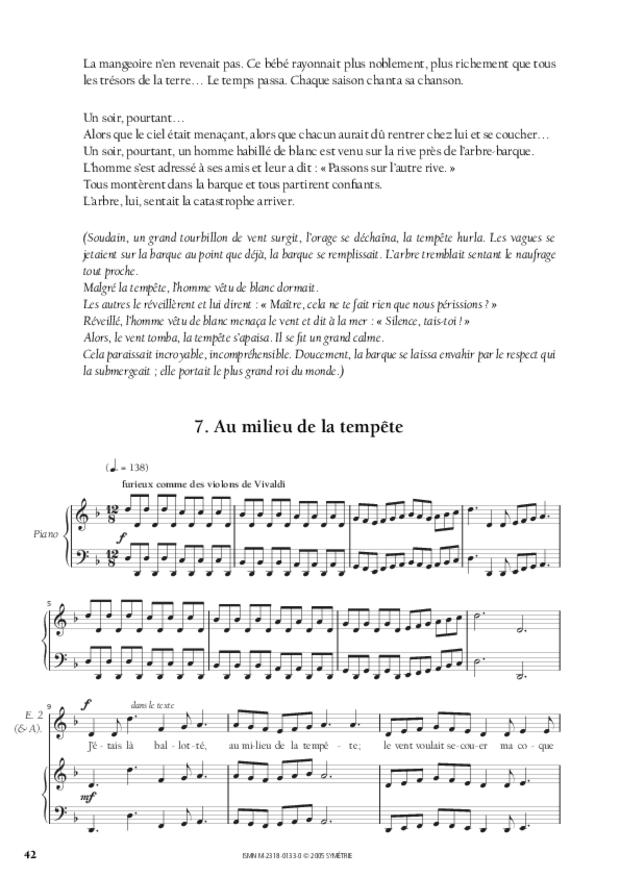Les Trois Arbres, d'après un conte russe, extrait 4