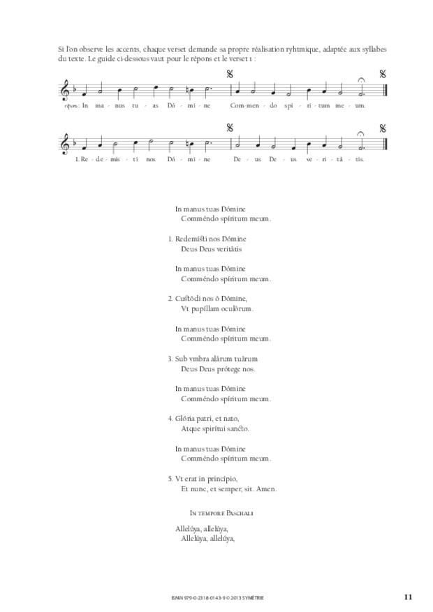 Cantiques spirituels, extrait 2