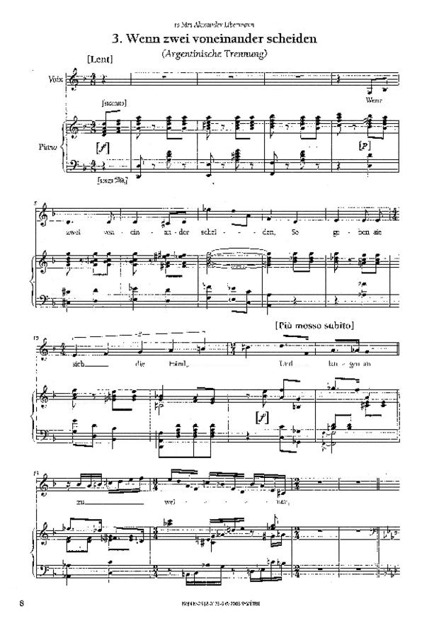 Wiener Konzert, extrait 3