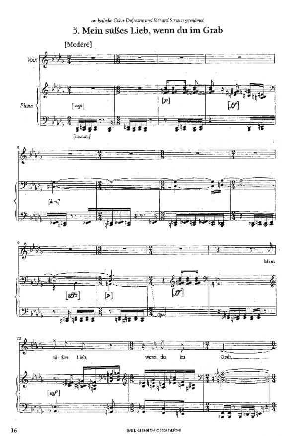 Wiener Konzert, extrait 5