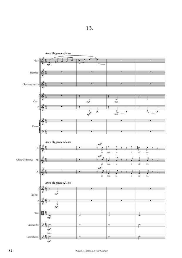 Cantate de la Loire, extrait 10