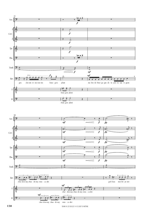 Cantate de la Loire, extrait 11