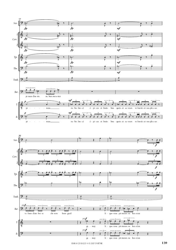 Cantate de la Loire, extrait 12