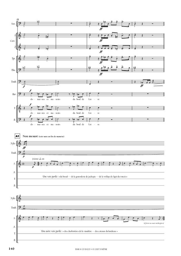Cantate de la Loire, extrait 13