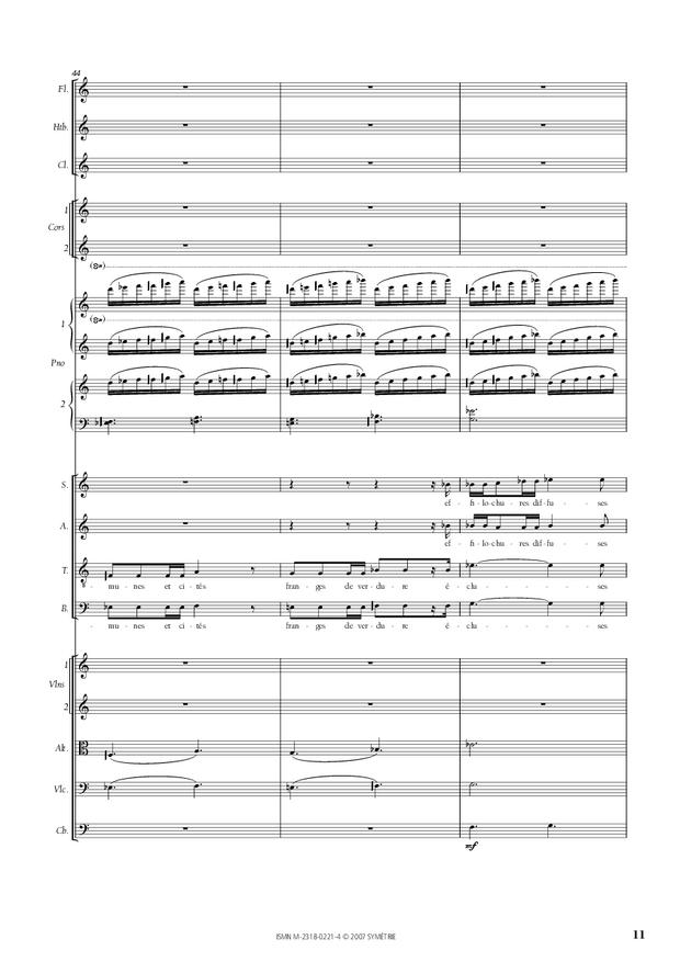 Cantate de la Loire, extrait 3