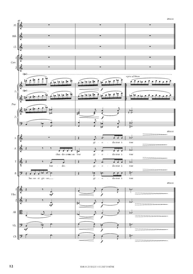 Cantate de la Loire, extrait 4