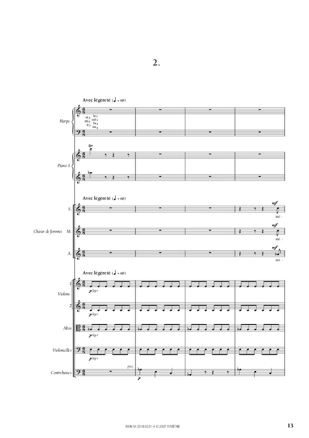 Cantate de la Loire, extrait 5