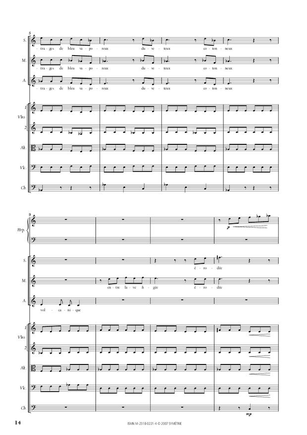 Cantate de la Loire, extrait 6