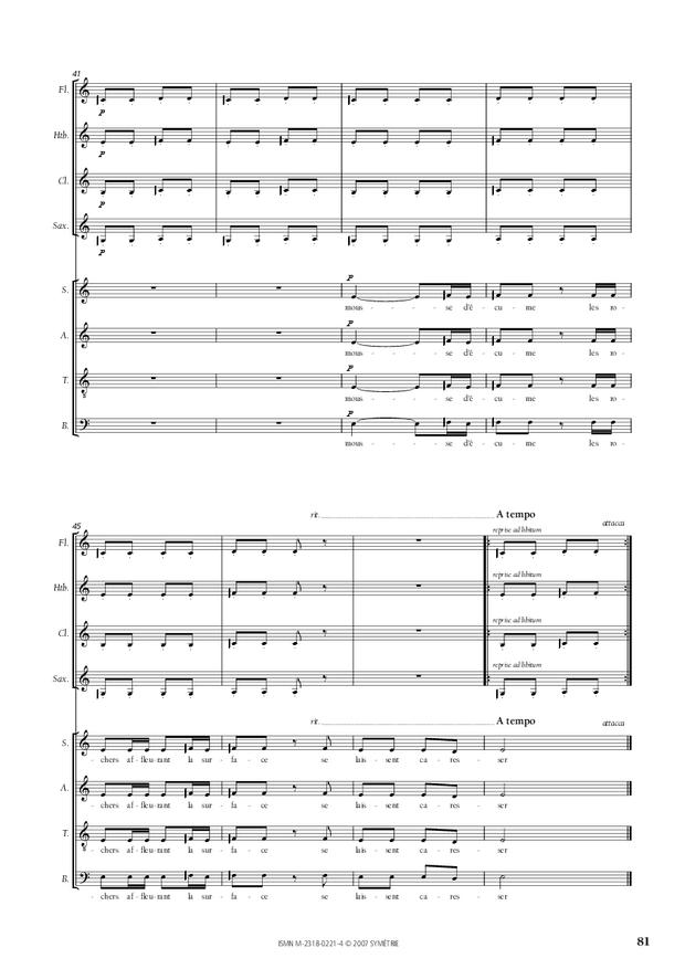 Cantate de la Loire, extrait 9