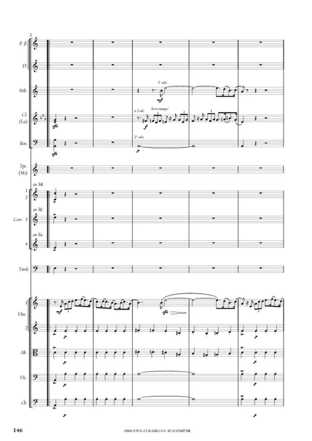 Symphonie en la mineur, extrait 16