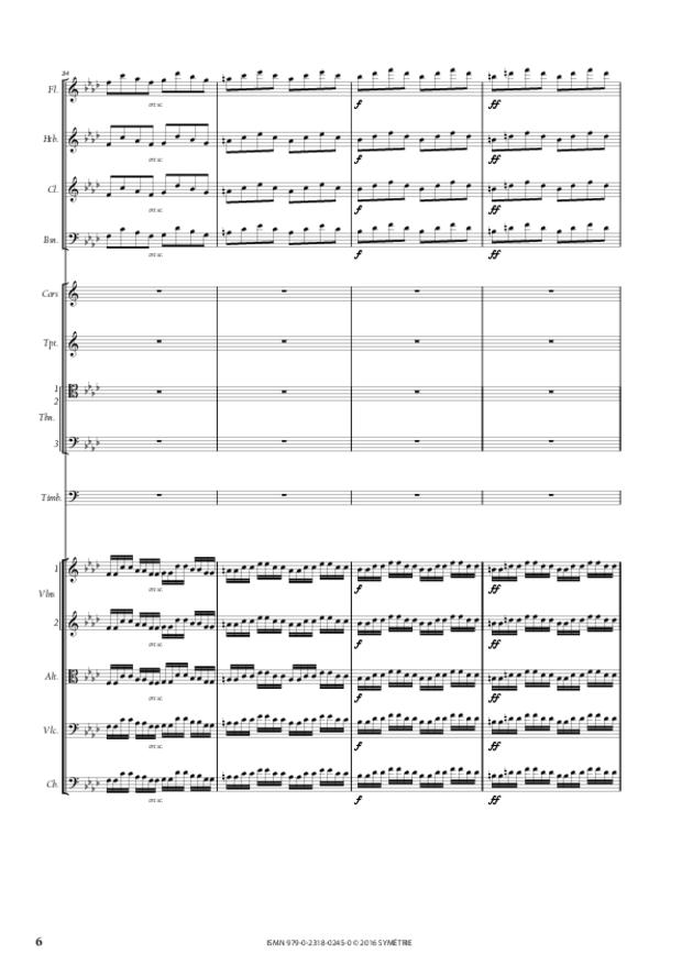 Ouverture de Démophon, extrait 6