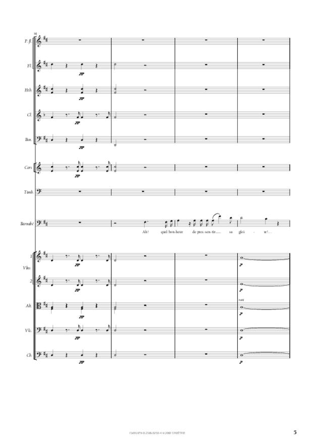 Air de Barnabé extrait du Maître de chapelle, extrait 2