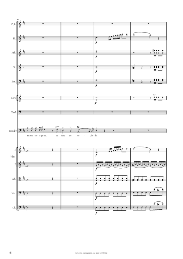 Air de Barnabé extrait du Maître de chapelle, extrait 3