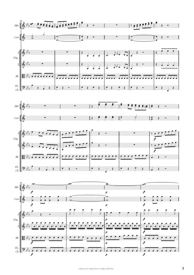 Symphonie en ut mineur, extrait 3