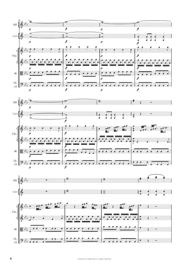Symphonie en ut mineur, extrait 4