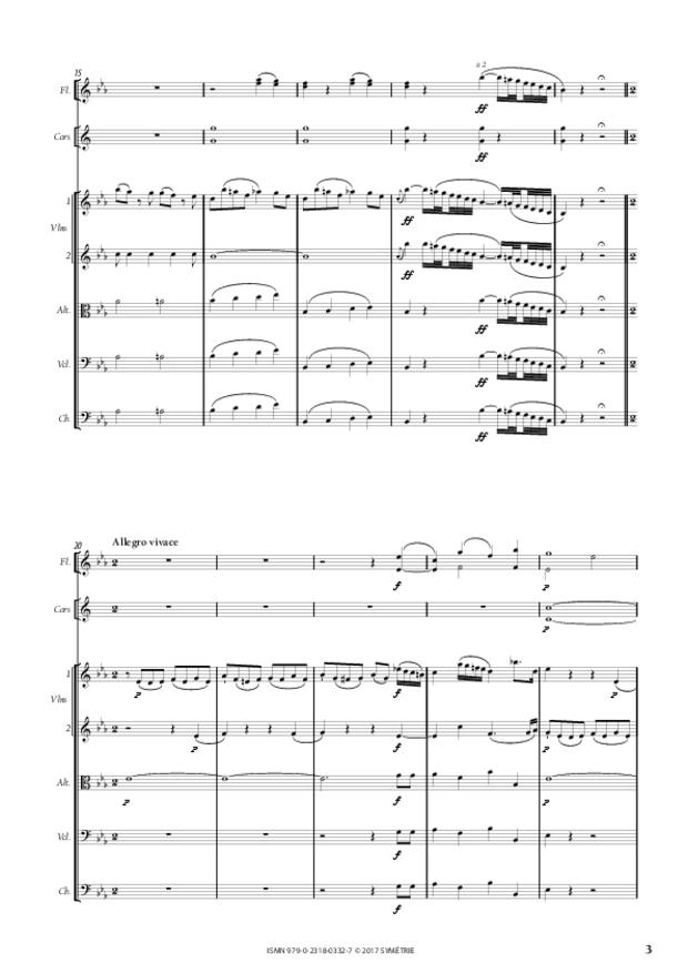 Symphonie, extrait 3