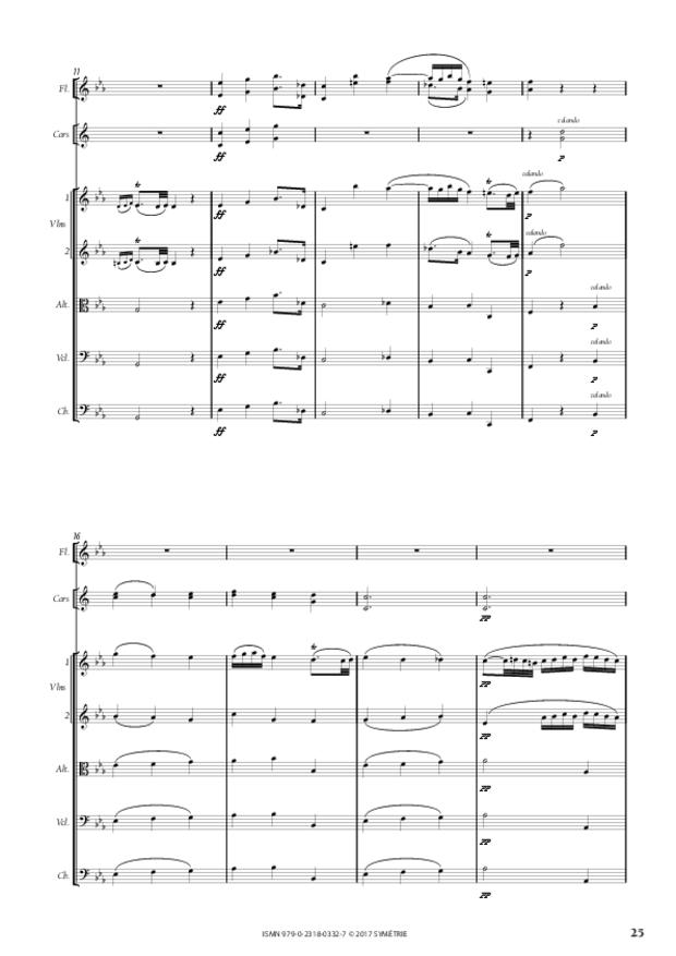 Symphonie, extrait 5
