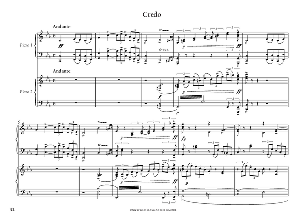 Messa di gloria, extrait 4