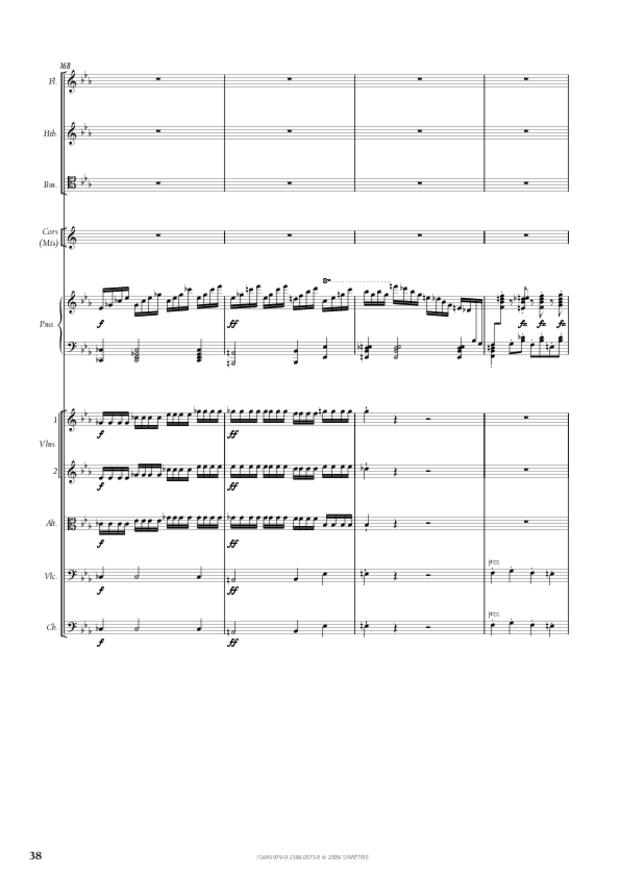 Concerto pour piano et orchestre n°2, extrait 3