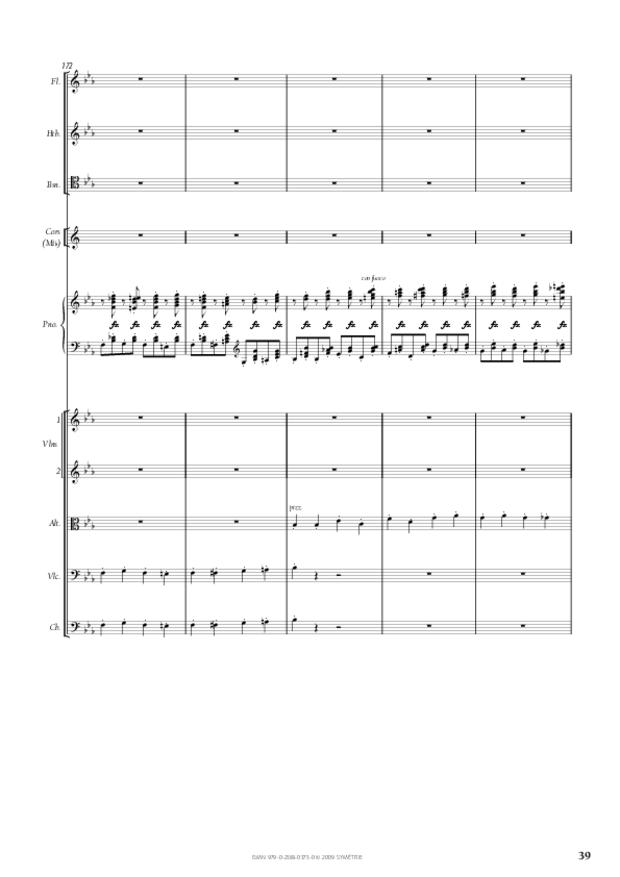 Concerto pour piano et orchestre n°2, extrait 4