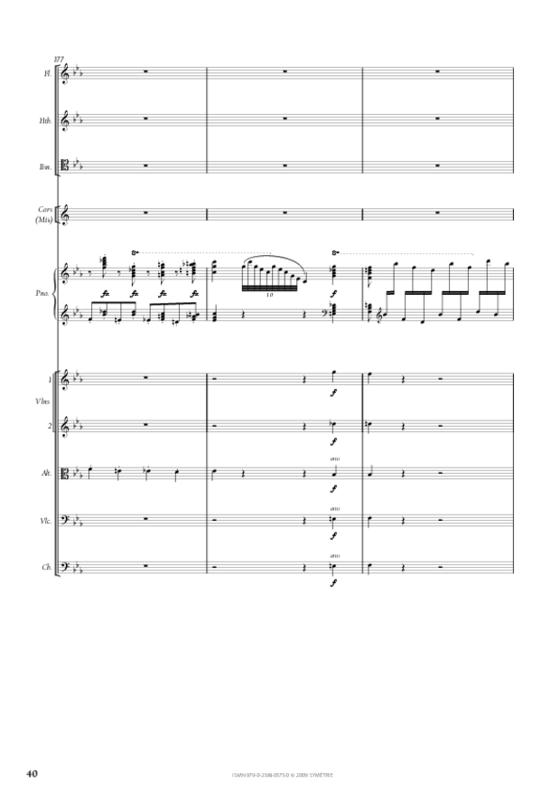 Concerto pour piano et orchestre n°2, extrait 5