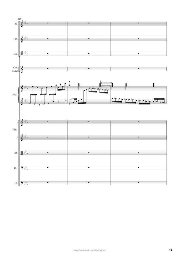 Concerto pour piano et orchestre n°2, extrait 6